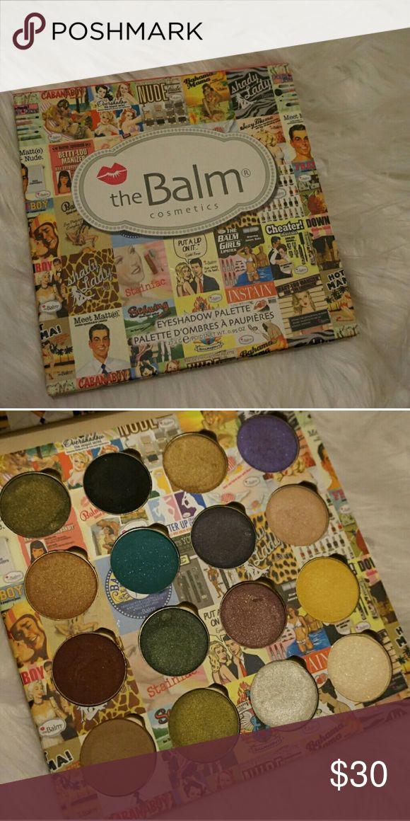 The balm cosmetic Custom made palette with all the balm eyeshadows, used the balm Makeup Eyeshadow