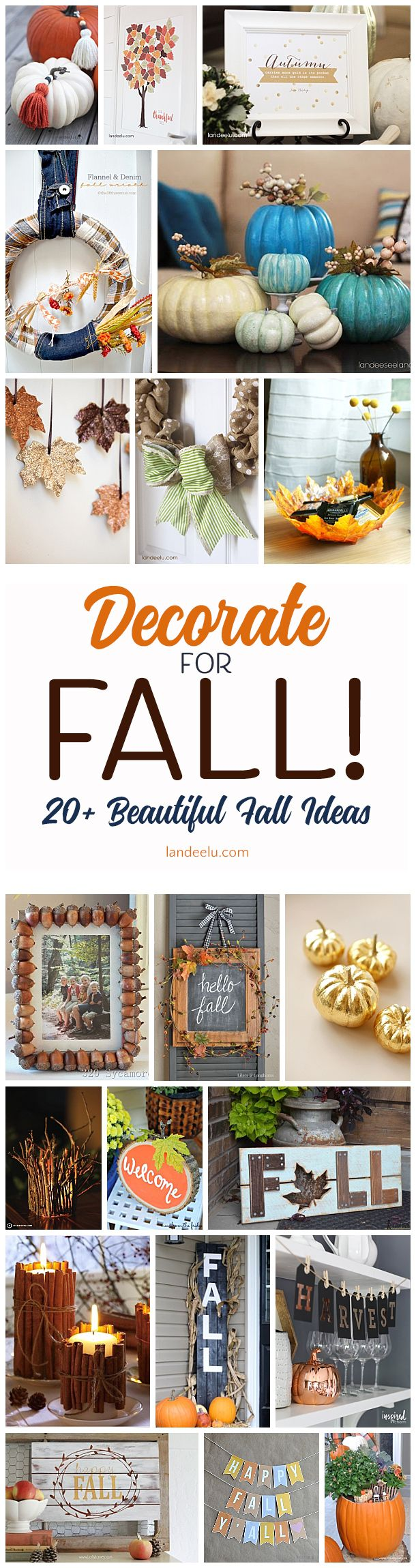 DIY Fall Decorations for Your Home 748