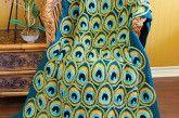 Peacock Crochet Blanket Pattern Is A Favourite