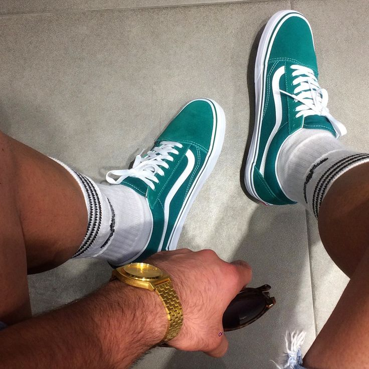 Vans oldschool green adidas socs