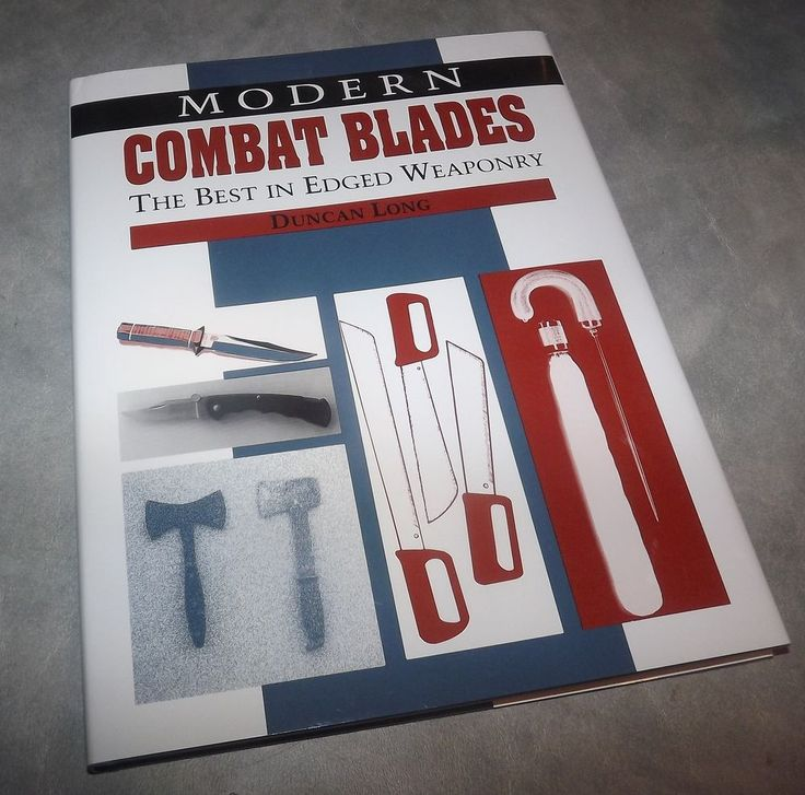 Modern Combat Blades : Best Edged Weaponry, Long © 1992 Paladin Press HC
