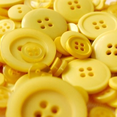 pretty yellow buttons