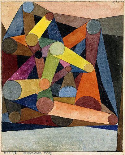 "nobrashfestivity: "" Paul Klee, Geöffneter Berg """