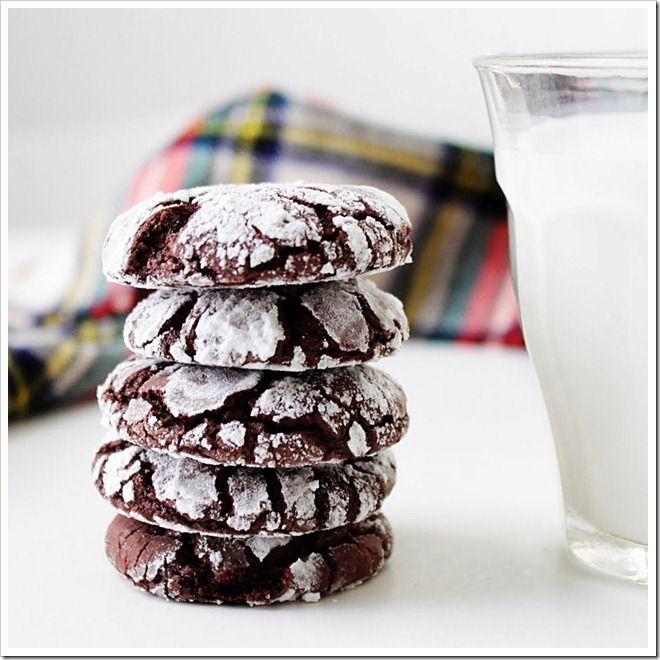 chocolate crackle cookies 3: Fun Recipe, Crackle Cookies, Yummy Eating, Chocolates Crinkle, Yummy Recipe, Chocolates Cookies, Crack Chocolates, Chocolates Crackle, Diy Christmas