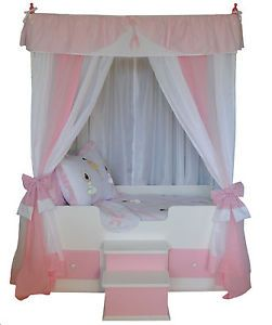 Princess Canopy Ebay On Full Ballerina Princess Canopy Bedding Girls Bed  Canopy Bed Girls