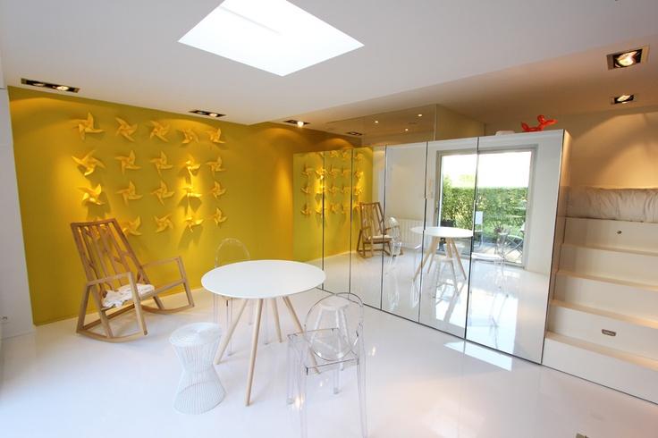 Appartement de 20m² St malo - Design by Didier VERSAVEL