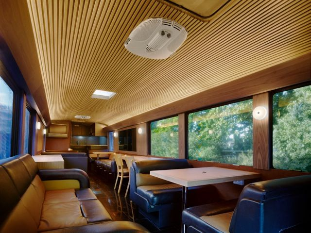 The Office Bus Taking Mobile Offices to the Next Level Interior