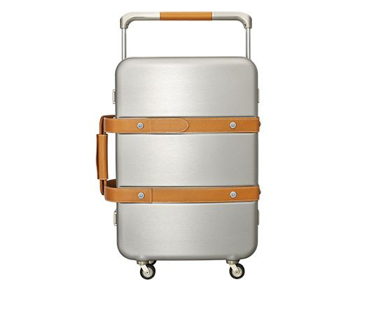 birkin 25 price - Hermes Orion Suitcase in aluminum and natural calfskin Measures 22 ...