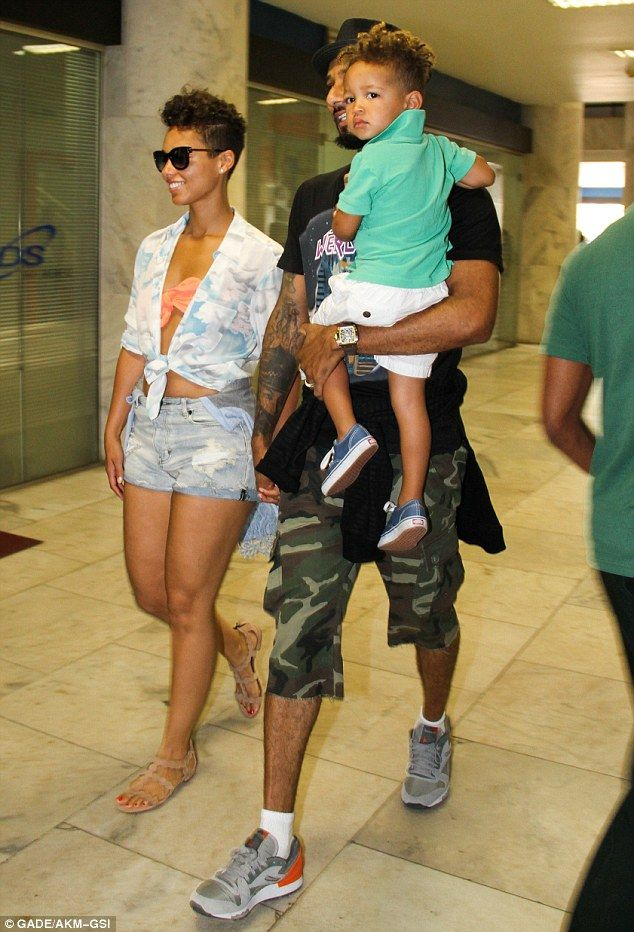 Alicia Keys and Her Son | three of us: Alicia Keys with her husband Swizz Beatz and their son ...