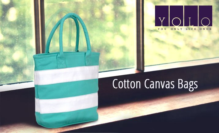 New Cotton Canvas Bags for Women From YOLO