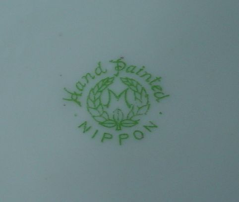 Nippon Backstamps And Known Dates Of Manufacture Vintage