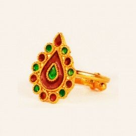 Indian Assamese Jewellery Dugdugi Ring  #OnlinePlus
