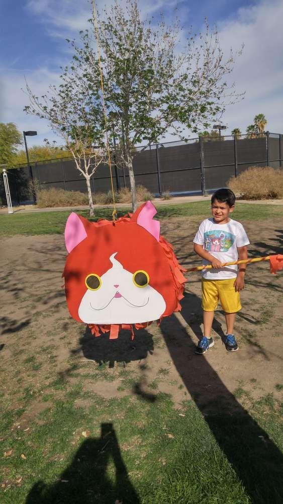 Yo Kai Watch. Fernando's birthday party | CatchMyParty.com