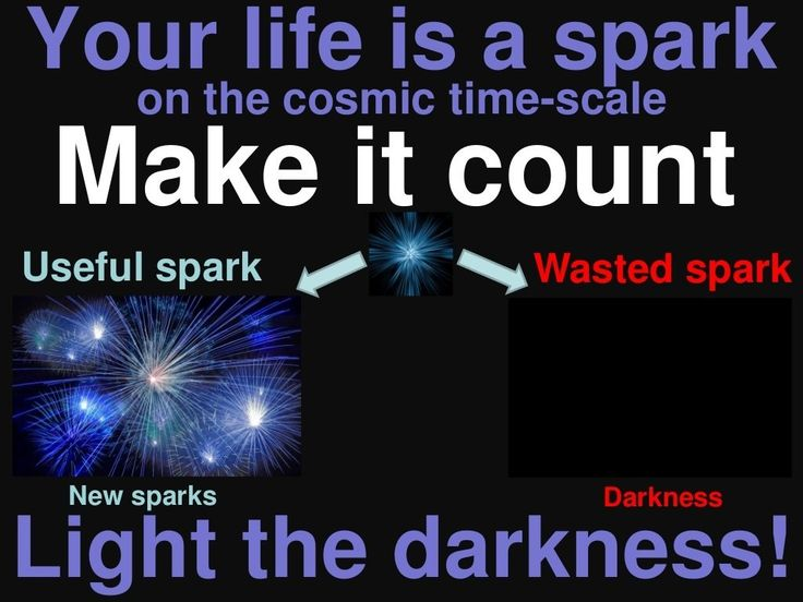 Childfree me not: your life is a spark, make it count