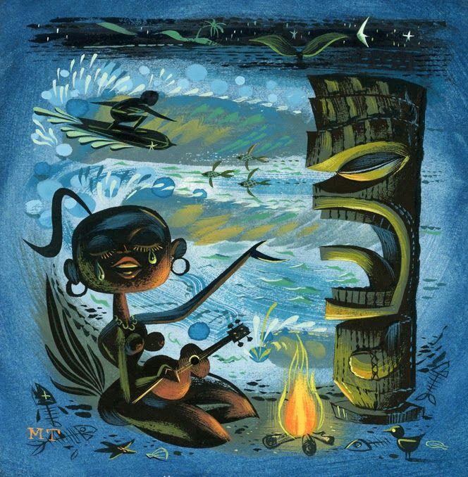 Tiki Art~Miles Thompson