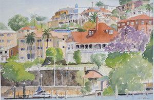 Brisbane WeekendNotes - Mainly Watercolours Art Exhibition - Brisbane