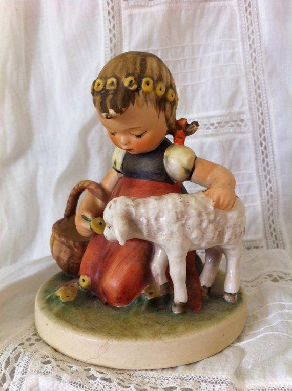 Hummel figurine  Favorite Pet  TMK  4 by HighBluffFarm on Etsy, $150.00