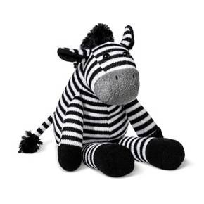 Baby will be ready for wild adventures with this Plush Zebra from Cloud Island™. Made of super soft polyester and OEKO-TEX™ certified, this stuffed animal will be a cuddle buddy baby will love to hug close, and you won't worry if they do. Perfect to squeeze tight while riding in the stroller, sitting in the playpen or listening to bedtime stories, this plush zebra will be a much loved snuggly friend for years to come.<br><br>Sleep Safely, Little One <br>...
