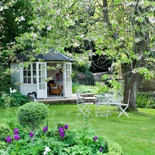 Country Garden Decor, Cottage Garden, Garden Design