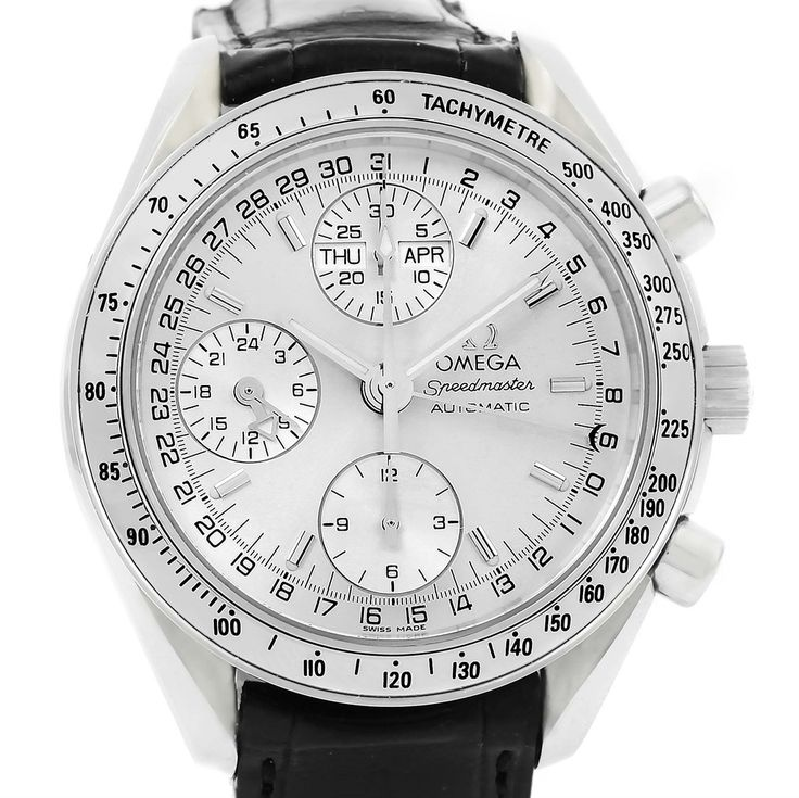 Omega Speedmaster Chronograph Day Date Watch 3823.30.00
