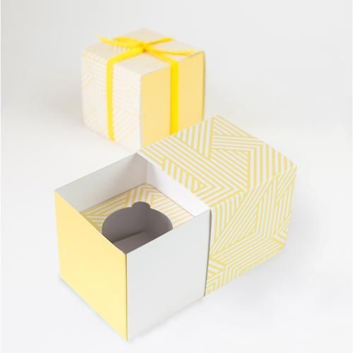 Paper Eskimo Cupcake Gift Boxes Hello Yellow Presents In 2019
