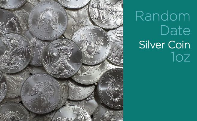 Random date silver coins - you could receive RCM Silver Maples, American Silver Eagles, Perth Mint Silver Kangaroos, Austrian Mint Philharmonics - basically any legal tender silver coin in varying condition, from scruffy to mint, sourced from buybacks or excess inventory. Unencapsulated.http://www.goldstackers.com.au/store/legal-tender-silver-coin-1oz-random.html?utm_content=buffer13906&utm_medium=social&utm_source=pinterest.com&utm_campaign=buffer  #silvercoins