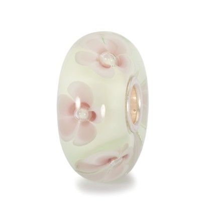"""Pastel Flower - """"Impossibly delicate. These pastel flowers look painfully fragile"""" #trollbeads"""