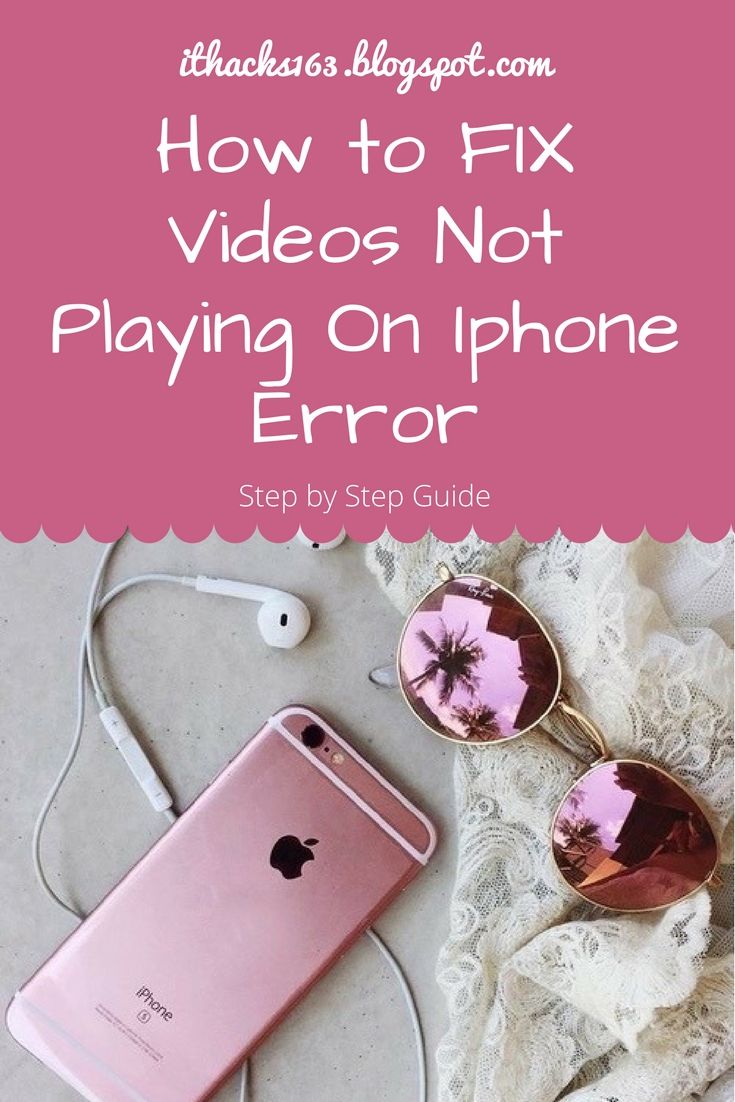 Best hacks to fix your videos not playing error.. How to fix iPhone, iPad ... fix error #iphone . #howto #hacks #mac #stepbystep #software #smartphones #videos #android #phones #follow4follow #follow #me