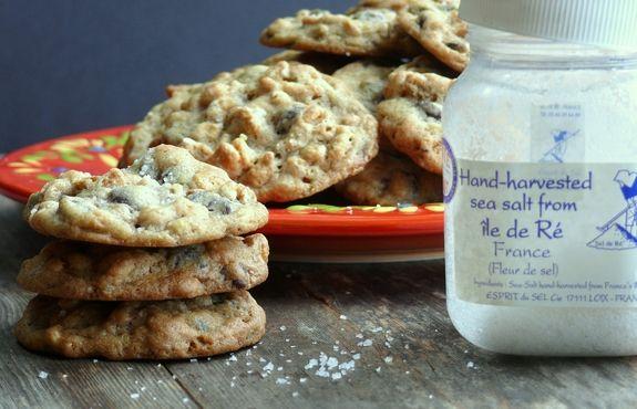 Dark Chocolate Sea Salt Kashi Cereal Cookies sea salt