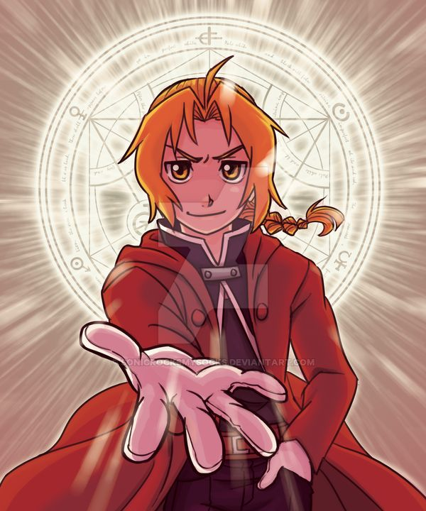 Edward Elric Print by SonicRocksMySocks on DeviantArt