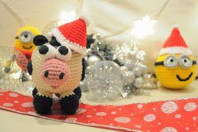 La vaquita de lanita: Especial patrones de Navidad (I): Minion bola