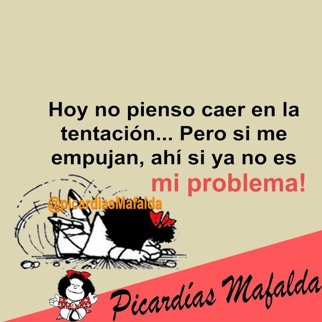 Mundo de Postales: HOY NO PIENSO CAER EN LA TENTACIÓN...