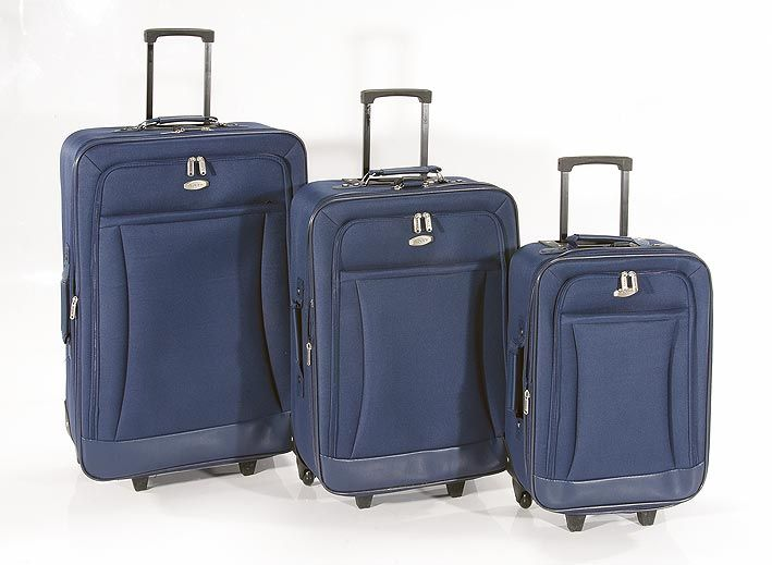 Travel in style with a suitcase set. Available in a variety of colours.