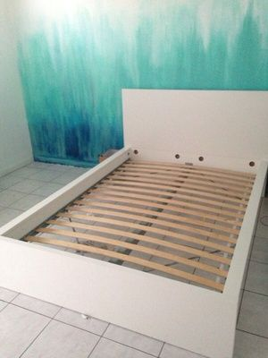 Bed frame in Miami Beach, FL (sells for $200)