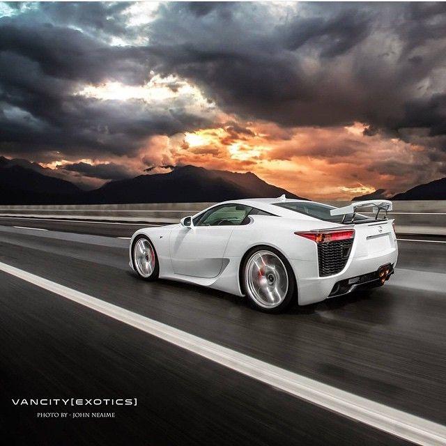 LFA   Via @vancityexotics   Partners: - @la_exotics - @aventador107 - @kusanagi_aoi - @fastdriven #fastercars_