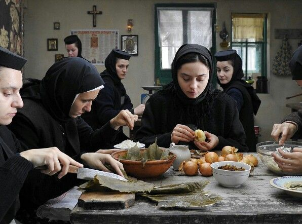 orthodox nuns