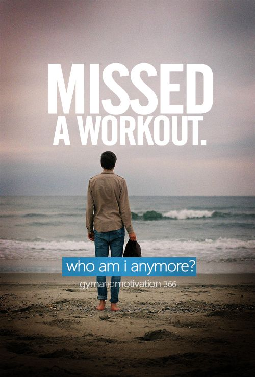 I hate this feeling. Fortunately, I always find the time to free myself in workout.