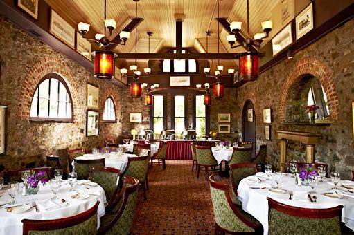 Gandy Dancer Restaurant in the former train station in Ann Arbor, Michigan