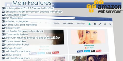CodeCanyon - Facebook Timeline Covers v1.0.2