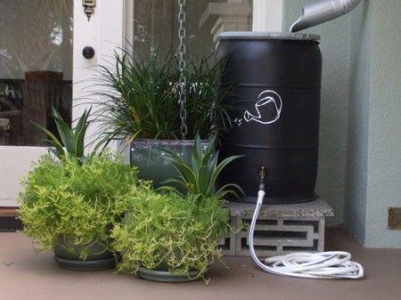 Cisterna para aproveitar água da chuva