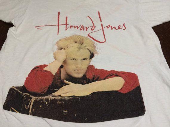 Vintage HOWARD JONES Tshirt 1985/ Dream Into by sweetVTGtshirt, $85.00