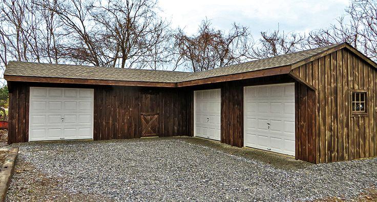 Image result for 2 car garage with workshop with garage ...