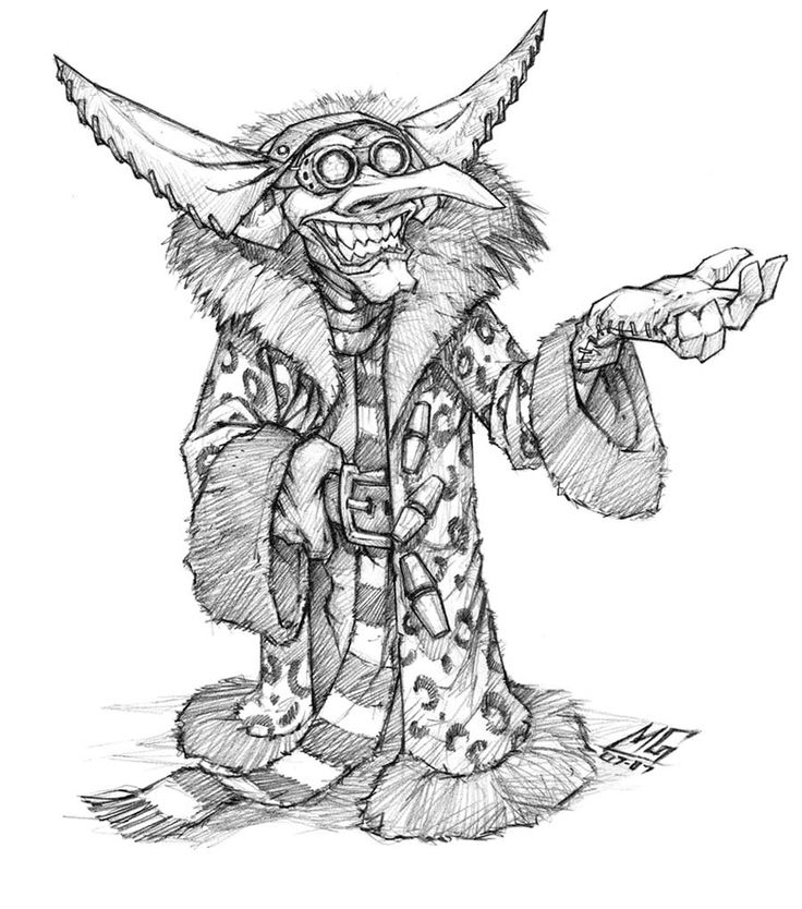 Goblin Vendor - Pictures & Characters Art - World of ...