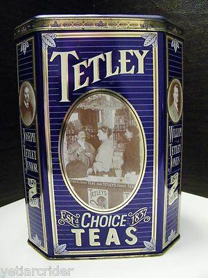 I Love Tetley British Blend.  I keep mine in this Vintage Tetley Tea Tin