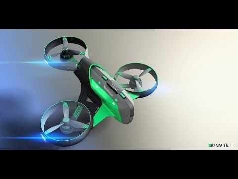 Watch Bebop Drone in action, the only one you control without piloting skills - YouTube