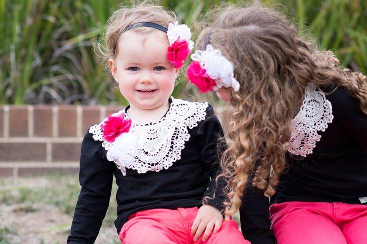 Sisterly Love......... 'Zara' Longsleeve and Headband Set