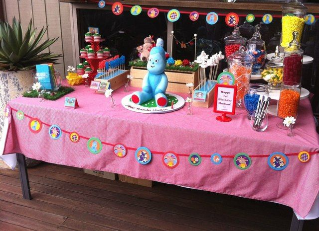 38 best In the Night Garden Birthday Party images on Pinterest