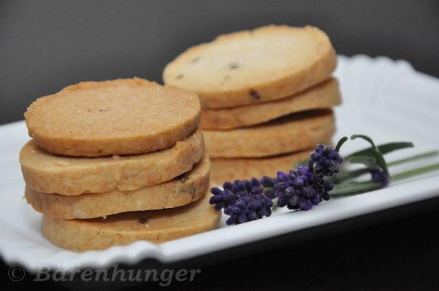 Lavendel Shortbread Cookies
