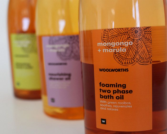 Woolworths Spa Products