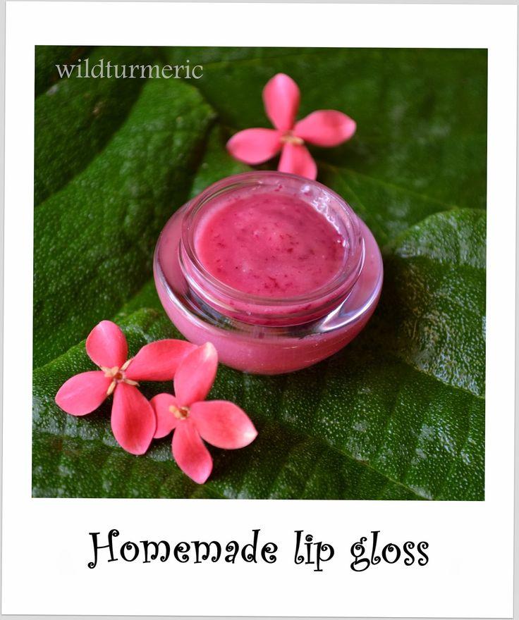 DIY: Easy Natural Homemade Lip Gloss Recipe | wildturmeric